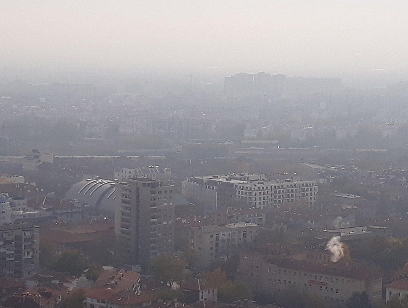 Мониторинг на състоянието на атмосферния въздух в Пловдив