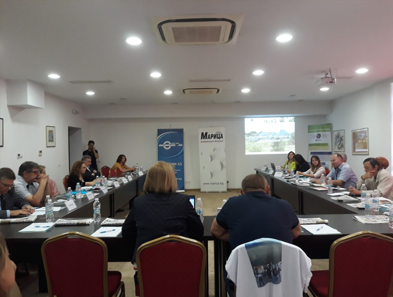 """Participation in a public debate on """"Polluted air – threats of the present and future of Plovdiv"""""""