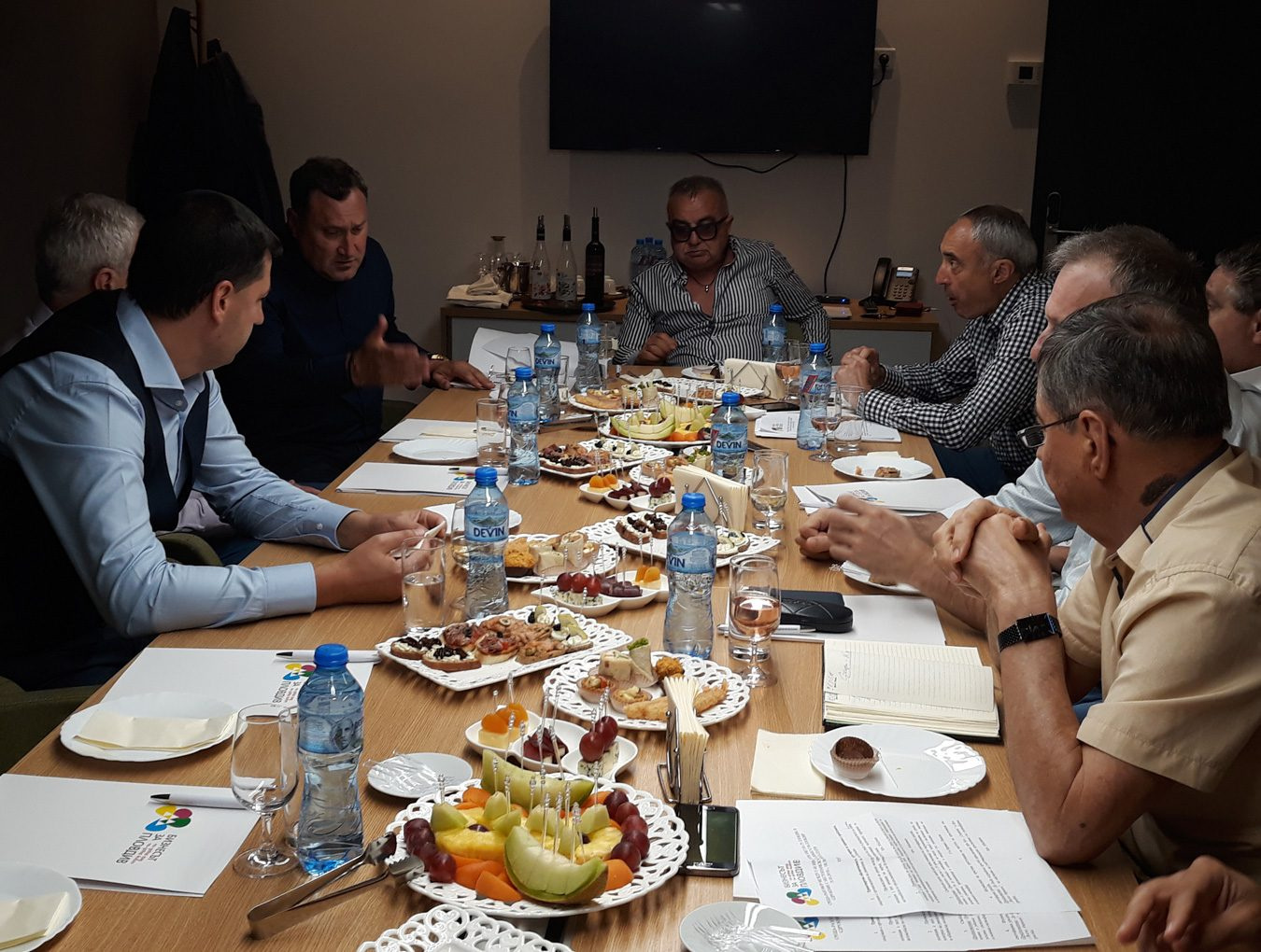 """The Management Board of the Association """"The Business for Plovdiv"""" discussed important issues with the Mayor of Plovdiv"""