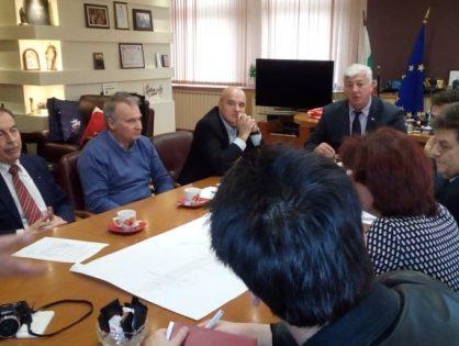 """Работна група от """"Бизнесът за Пловдив"""" се срещна отново с Областния управител, г-н Здравко Димитров"""