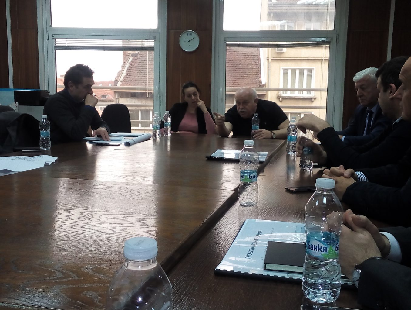 "Official meeting with representatives of the ""Road Infrastructure Agency"""