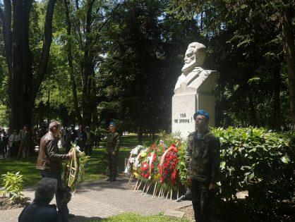"""СНЦ """"Бизнесът за Пловдив"""" почете Деня на Ботев"""