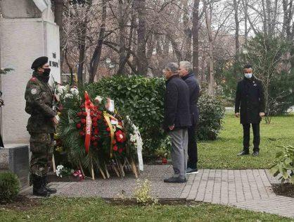 """СНЦ""""Бизнесът за Пловдив"""" отбеляза 173 години от рождението на Христо Ботев"""